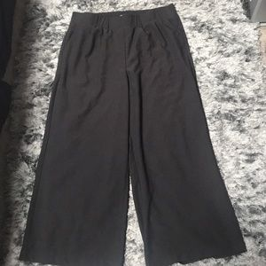 Women's Plus Size 1X Black Dress Pants